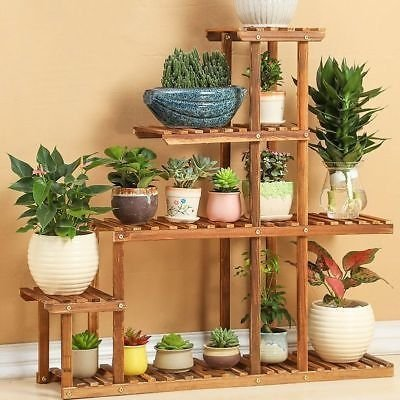 Awesome Stand Wooden Plant Ideas06