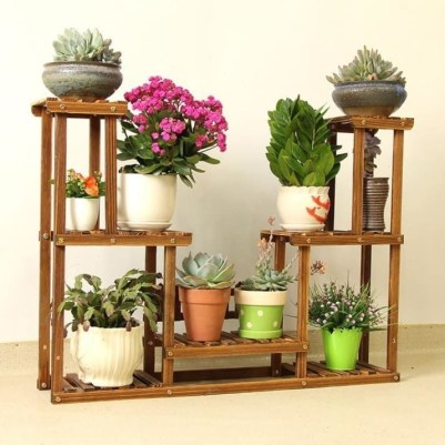 Awesome Stand Wooden Plant Ideas29