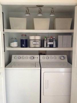 Brilliant Small Laundry Room Decor Ideas21