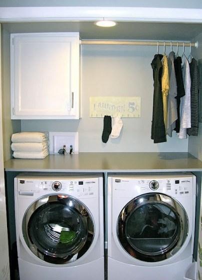 Brilliant Small Laundry Room Decor Ideas42