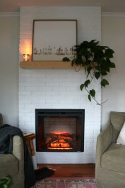 Cool Electric Fireplace Designs Ideas For Living Room11