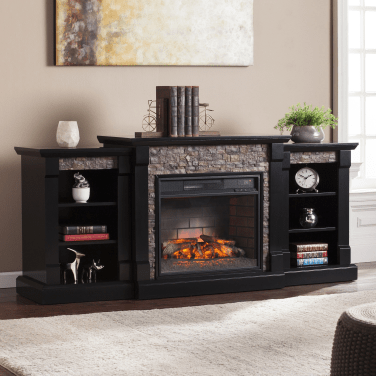 Cool Electric Fireplace Designs Ideas For Living Room23