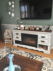 Cool Electric Fireplace Designs Ideas For Living Room26