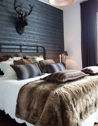 Lovely Masculine Boho Bedroom Designs07