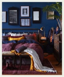 Lovely Masculine Boho Bedroom Designs31
