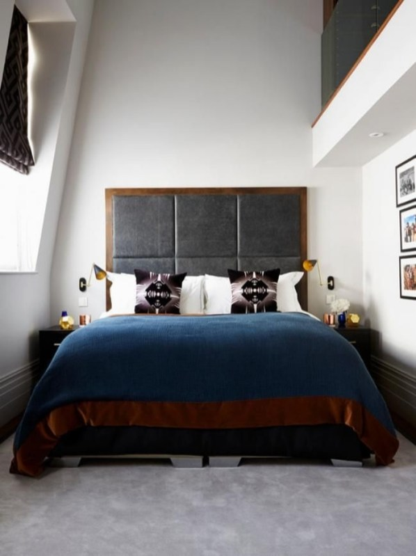 Lovely Masculine Boho Bedroom Designs36