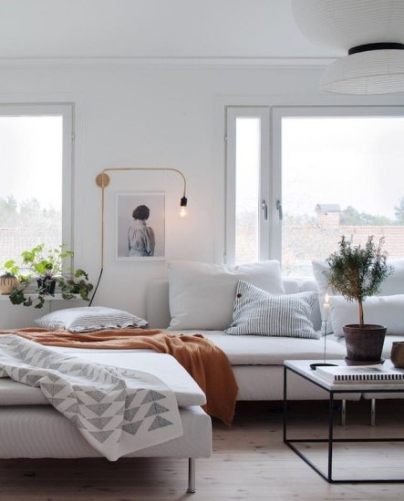 Perfect Scandinavian Living Room Design Ideas17