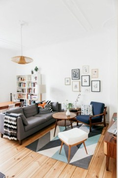 Perfect Scandinavian Living Room Design Ideas24