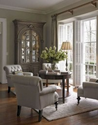 Pretty French Country Living Room Design Ideas06