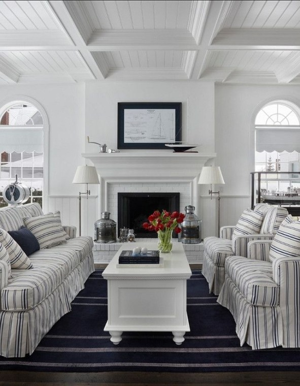 Pretty French Country Living Room Design Ideas14