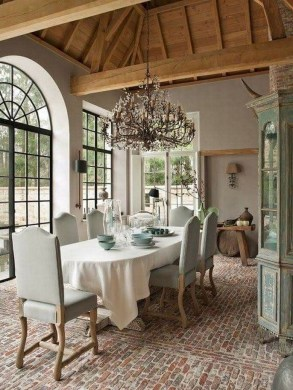 Pretty French Country Living Room Design Ideas28