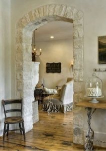 Pretty French Country Living Room Design Ideas41