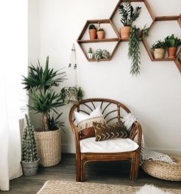 Simple Wall Plants Decorating Ideas10