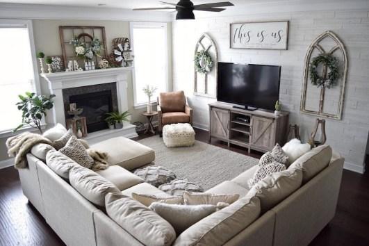Smart Farmhouse Living Room Design Ideas06