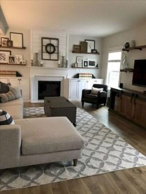 Smart Farmhouse Living Room Design Ideas16