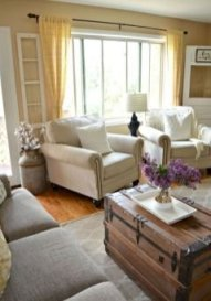 Smart Farmhouse Living Room Design Ideas17