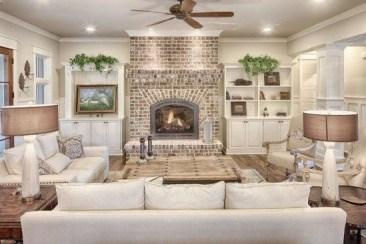 Smart Farmhouse Living Room Design Ideas44