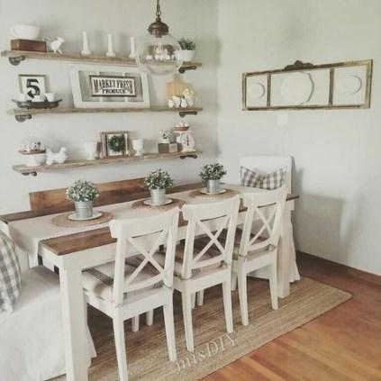Stunning Small Dining Room Table Ideas33