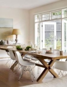 Wonderful French Country Dining Room Table Decor Ideas27