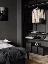 Amazing Black Bedroom Design Ideas For Home10