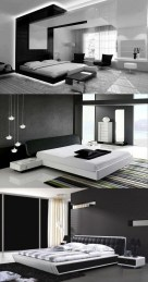 Amazing Black Bedroom Design Ideas For Home12