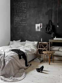 Amazing Black Bedroom Design Ideas For Home25