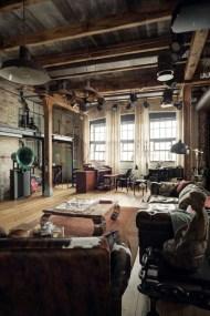 Creative Industrial Living Room Designs Ideas05