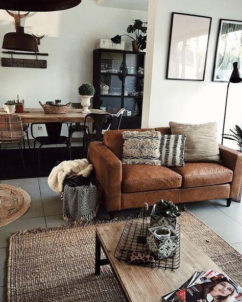 Creative Industrial Living Room Designs Ideas35