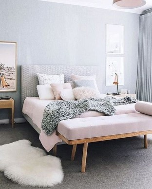 Excellent Scandinavian Bedroom Interior Design Ideas43