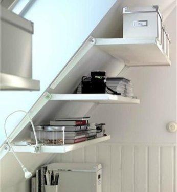 Fascinating Small Attic Bathroom Design Ideas08