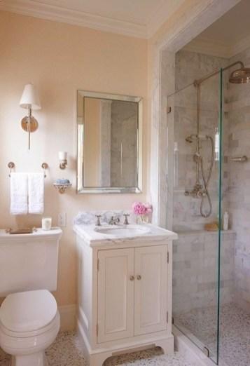 Fascinating Small Attic Bathroom Design Ideas36