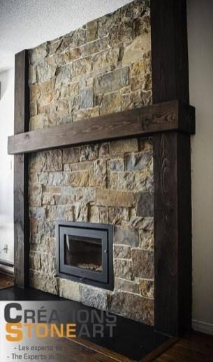 Impressive Stone Veneer Wall Design Ideas41
