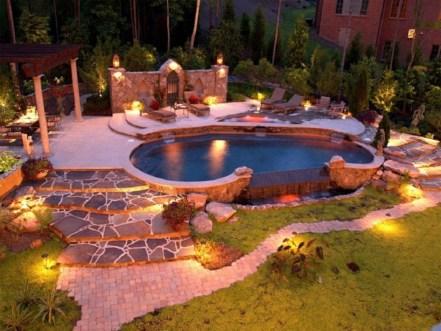 Latest Outdoor Lighting Ideas For Garden40