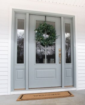 Perfect Painted Exterior Door Ideas15