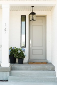 Perfect Painted Exterior Door Ideas35