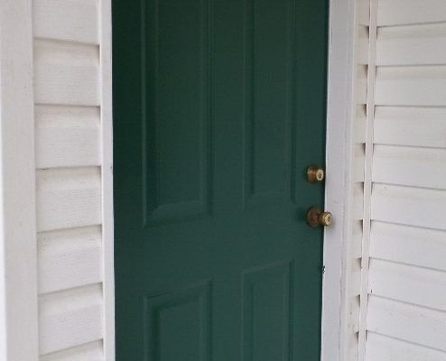 Perfect Painted Exterior Door Ideas45