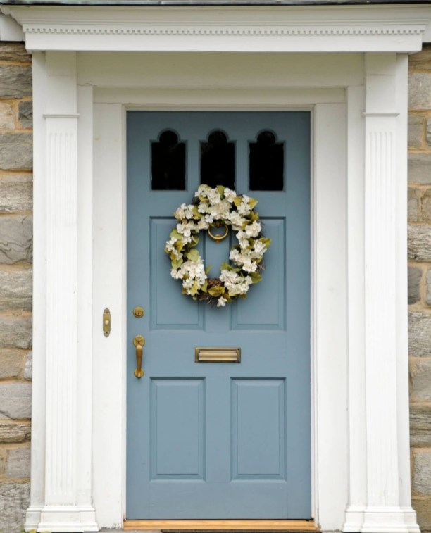 Perfect Painted Exterior Door Ideas48