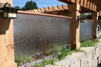 Stylish Outdoor Water Walls Ideas For Backyard02