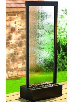 Stylish Outdoor Water Walls Ideas For Backyard38