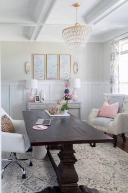 Vintage Home Office Design Ideas15