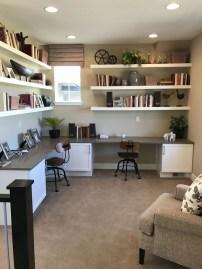Vintage Home Office Design Ideas21