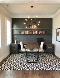 Vintage Home Office Design Ideas36
