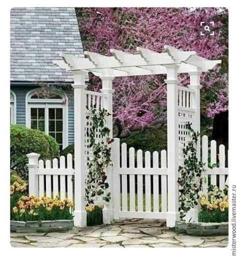 Awesome Small Garden Fence Ideas16