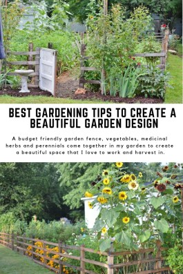 Awesome Small Garden Fence Ideas25