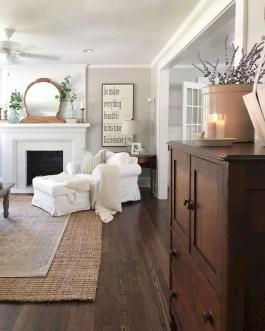 Beautiful Farmhouse Living Room Decor Ideas19