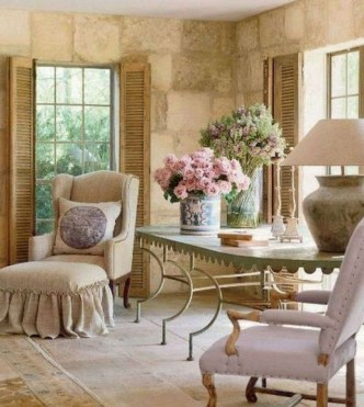 Comfy French Home Decoration Ideas19