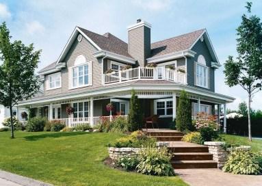 Creative Farmhouse House Plans Ideas With Wrap Around Porch05