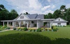Creative Farmhouse House Plans Ideas With Wrap Around Porch12