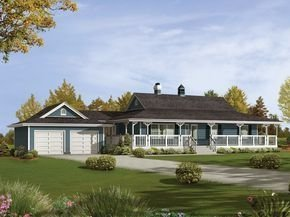 Creative Farmhouse House Plans Ideas With Wrap Around Porch20