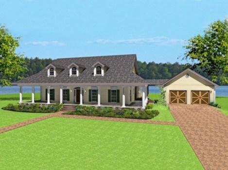 Creative Farmhouse House Plans Ideas With Wrap Around Porch22